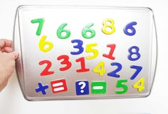 Magnetic trays, numbers, letters, dry erase boards and calendars only at AlenaSani.com