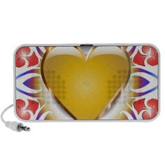 Glowing heart products.