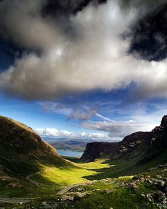Scottish Highlands ... Bealach Na Ba, Scotland.  If you gave me a plane ticket to anywhere, I would always pick Scotland.