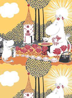 Rose Moomin || Ruusumuumi Tove Jansson, A Comics, Anime Comics, Moomin Wallpaper, Moomin Valley, Poster Prints, Posters, Extinct Animals, Comic Styles