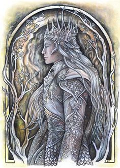 "Ingwë, high king of the Vanyar who dwelt in Valinor. ""The Vanyar were the ""fair-elves"", first of the Eldar hosts to follow Oromë to the Undying Lands. Their king was Ingwë. They had a generous spirit, ""noble and gentle temper"" and love for the Valar (The History of Galadriel and Celeborn, ""Unfinished Tales""). They were regarded, and regarded themselves, as the leaders and principal kindred of the Eldar."""