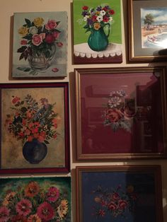 Frame Placement, Curiosity Shop, Display Ideas, Past, Painting, Past Tense, Painting Art, Paintings, Painted Canvas