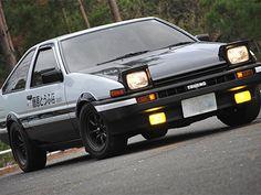 "Toyota Sprinter Trueno ""Hachi-Roku"" Initial D Initial D Car, Best Jdm Cars, Street Racing Cars, Race Racing, Racing Wheel, Shocking Facts, Nissan Skyline Gt, Tuner Cars, Cheap Cars"