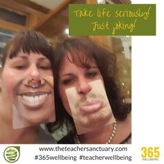 #149/365 #365wellbeing  Take life seriously!  Make it significant!  Just joking!!! #TopTips #TakeTheOxygenFirst #TeacherWellbeing #TheTeacherSanctuary #EveryTeacherMatters #KathrynLovewell #HaveALaugh #Relax #GoWithTheFlow #Happiness #DontMakeThingsSignificant