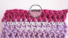 Cómo cambiar de color cuando tejes a crochet (¡CORRECTAMENTE!)