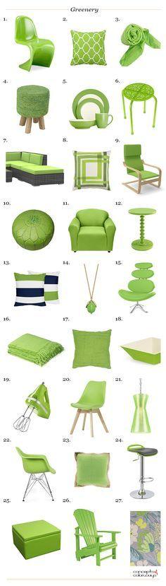 Resultado de imagen para pantone greenery