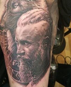 Tatuagens de Ragnar Lothbrok da série Vikings que vão te levar a Valhala - Tinta na Pele | Tatuagem