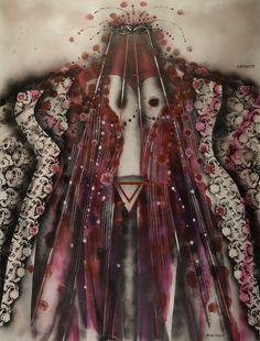 "Bilge Alkor ""Afrodite"", 170x130cm"