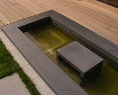 Ideal Wasserbecken im Garten