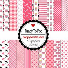 Digital Scrapbooking ReadyToPop INSTANT DOWNLOAD by azredhead, $2.00