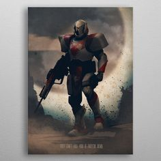 Destiny Titan by Eden Design Wall Art Prints, Poster Prints, Canvas Prints, Posters, Eden Design, Destiny Game, Game Character Design, Poster Making, Good Company