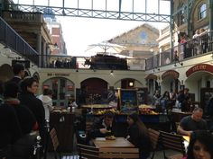 Covent Garden Market. One of my favorite place in London. Should eat paella!  #CoventGarden