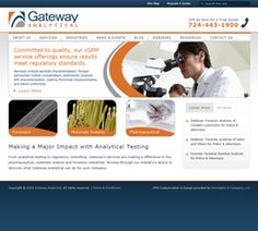 Herrington & Company was contracted to help Gateway Analytical plan, design, and build a new web presence that included a simple to use administrative backend capable of handling multiple content editors. Wordpress was chosen for this project given it's flexibility and blogging capabilities (which are used to promote company events and seminars).