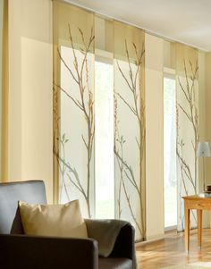 Panel Curtains – check various designs and colors of Panel Curtains on Pretty Home. Also check Modern Curtains Home Curtains, Curtains Living Room, Home, Pretty House, Sliding Glass Door Window Treatments, Modern Curtains, Curtains, Zen Interiors, Elegant Doors