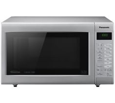 sharp r861slm. buy panasonic nn-ct565m 27l combination touch microwave -silver at argos.co. sharp r861slm t