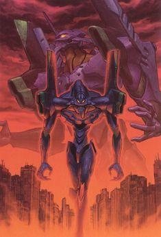 Neon Genesis Evangelion, Manga Art, Anime Art, Evangelion Tattoo, Mecha Anime, Comic Games, Psychedelic Art, Animation, Cartoon