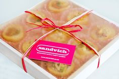 Gorgeous, tasty gift boxes from sandvich!