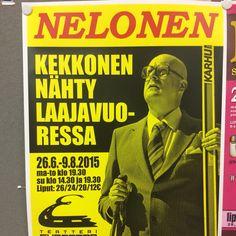 Kekkonen, teatteri, jyväskylä