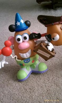 Mr. Potato Head.....Disney Style! Mr Potato Head, Potato Heads, Brat Pack, Disney Pictures, Disney Stuff, Toy Story, Potatoes, Toys, Crafts