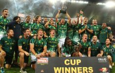Blitzboks touched by Madiba magic Sevens Champions on Sunday 08 Dec 2013 South African Rugby, Being Good, Cape Town, Good Times, Shark, Magic, Sunday, Travel, Domingo