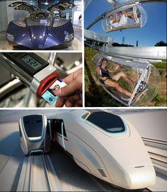 6 Futuristic Mass Transit Concepts - I'll take the stretch limo!