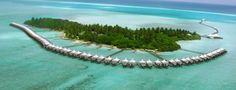 Resort Aerial View Chaaya Lagoon Hakuraa Huraa Island Maldives http://www.chaayalagoonhakuraa.com/