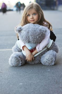 Precious Child and her teddy
