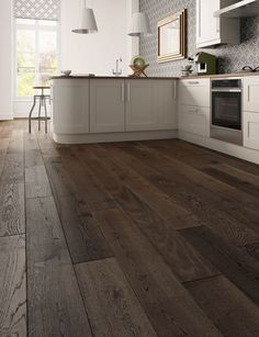 Duo Living XL Oak Antique looks great in a kitchen. Engineered wood 189mm wide.