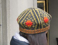 Ravelry: mohairkid's Setesdal Inspired Hat - found the pattern!