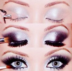Gorgeous eye makeup! Love, love, love!