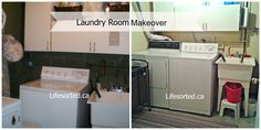 Laundry room makeover Part 2 The Reveal