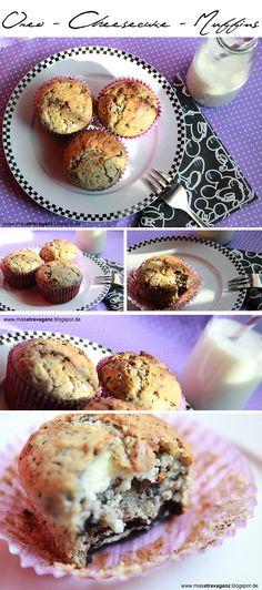 Oreo - Cheesecake Muffins