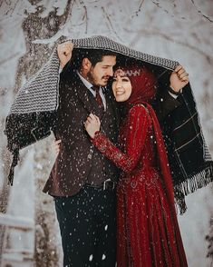 "Find and save images from the ""Muslim Couple 👫💑"" collection by Muslim Girl on We Heart It, your everyday app to get lost in what you love. Couples Musulmans, Cute Muslim Couples, Muslim Girls, Cute Couples Goals, Romantic Couples, Romantic Weddings, Muslimah Wedding, Wedding Hijab, Muslim Wedding Dresses"