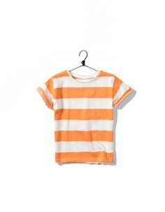 camiseta de rayas anchas