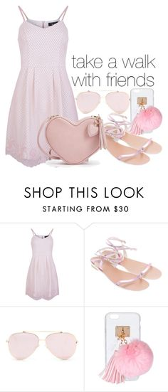 """""""Take a walk with friends"""" by ramirez-coimbra ❤ liked on Polyvore featuring New Look, Chloé and Ashlyn'd"""