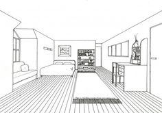 Room Perspective paintings - Google Search