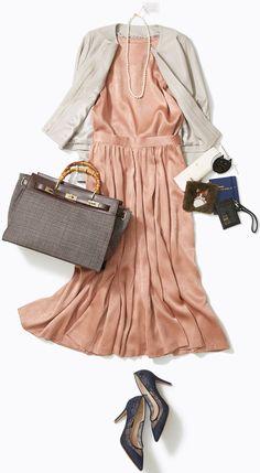 きちんと&華やかな今どきキャリアスタイル! 人気スタイリスト土居悦子さんがルミネ北千住のショップアイテムを使って、お仕事シーンに使えるいまどきのセットアップをご紹介! Xl Fashion, Office Fashion, Modest Fashion, Fashion Looks, Womens Fashion, Business Casual Outfits, Soft Summer, School Outfits, What To Wear