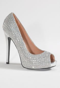 High Heel Open Toe Pump from Camille La Vie and Group USA