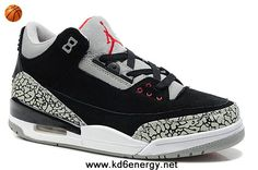 Air Jordan 3 III Suede Grey/Black/Red Cement