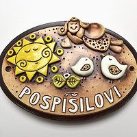 Hledání zboží: anděl / Keramika | Fler.cz Stone Mosaic, Garden Art, Creative, Vases, Ceramic Plates, Bottles, Pottery, Yard Art