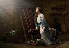Gospel Art | Blessed Among Women by Simon Dewey giclee canvas | Cornerstone Art