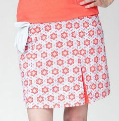 GolfHER's Sandy Ladies Golf Skort features high performance active wear fabric along with SPF 35 protection. #golf #skort #ootd #lorisgolfshoppe