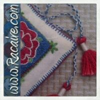 www.racaire.com - Another needle book with Klosterstich embroidery .2  Read…