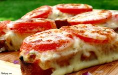 Tuna Melts with Capers and Sliced Tomatoes