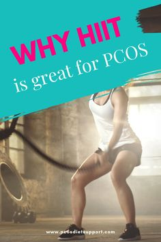 I must confess... I'm not a huge fan of the gym (or even exercise for that matter). And I don't always have a lot of time on my hands. So, when I workout, I want to know that I am getting the biggest bang for my buck. Erika Volk, The PCOS Personal trainer, shares her best PCOS workout. #pcos #pcosdiet #pcosexercise #pcoshiit Pcos Exercise, Treatment For Pcos, Pcos Symptoms, Polycystic Ovarian Syndrome, Pcos Diet, Lose Weight, Weight Loss, Insulin Resistance, I Want To Know