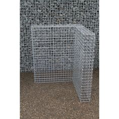 Gabion Wastebin expansion element Gabion Wall, The Expanse, Rugs, Home Decor, Climbing Vines, Drive Way, Natural Stones, Farmhouse Rugs, Interior Design