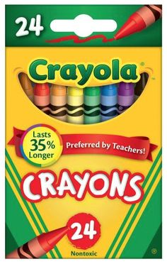 Walmart currently has Crayola Classic Color Pack 24 Count Crayons for just $0.50 per box. Shipping is free! Note: Office Depot/Office Max have Crayola Crayons on sale for $0.25 per box this week so if you're able to get to …