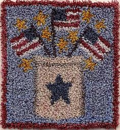 Penny Rug Patterns, Rug Hooking Patterns, Cross Stitch Patterns, Embroidery Patterns, Punch Needle Patterns, Hand Hooked Rugs, Thing 1, Penny Rugs, Moon Design
