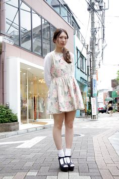 【STREET SNAP】山口 ゆきの | LUCY | ストリートスナップ | 原宿(東京)|