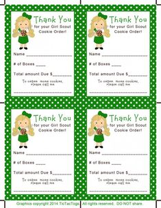 Girl Scout Cookie Thank You Receipt, Origami Girl Scout - Web Design Online Girl Scout Leader, Girl Scout Troop, Brownie Girl Scouts, Selling Girl Scout Cookies, Girl Scout Cookie Sales, Junior Girl Scout Badges, Girl Scout Juniors, Scout Mom, Daisy Girl Scouts
